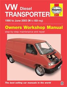 Haynes' reparasjonshåndbok, engelsk, VW Transporter Diesel (T4)