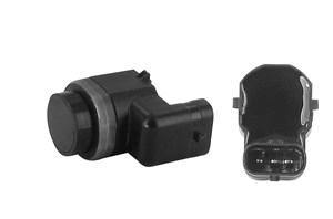Sensor, parkeringshjælp, Bag, På indersiden, Ydre