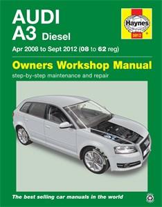 Haynes Reparationshandbok, Audi A3 Diesel, Universal