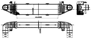 Reservdel:Mercedes C 180 Intercooler