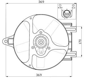 Reservdel:Ford Escort Fläkt, kylare