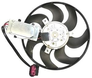 Ventilator, motorkøling, Venstre