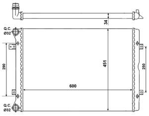 Reservdel:Ford Galaxy Kylare, motorkylning