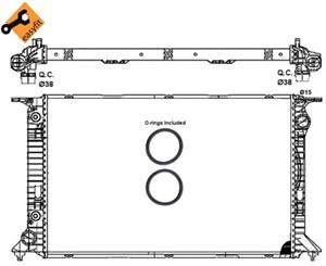 Reservdel:Audi A5 Kylare, motorkylning