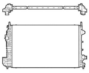 Reservdel:Saab 9-3 Kylare, motorkylning