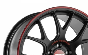 BBS CH-R Nurburgring Black Red
