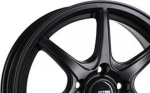 Inter Action Black Ice Matt Black