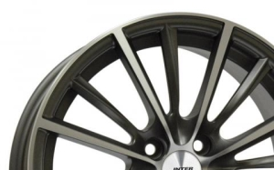 Inter Action Velocity Anthracite Polished