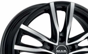 Mak Milano Black Polished