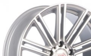 Mille Miglia 1005 Matt Silver Polished