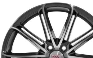 Mille Miglia 1007 Dark Anthracite Polished