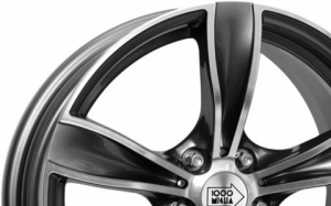 Mille Miglia MM033 Gun Metal Polished