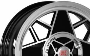 Mille Miglia MM500 Black Polished