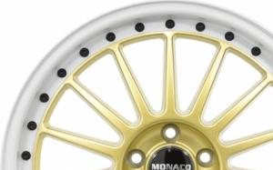 Monaco Paddock Gold White