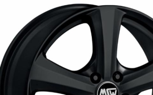 MSW 19 Matt Black