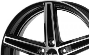 Oxigin Concave 18 Black Polished