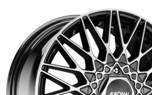 Ronal LSX Black Polished