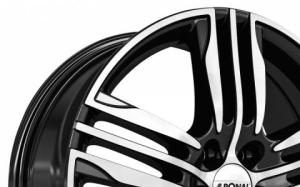 Ronal R57 Black Polished