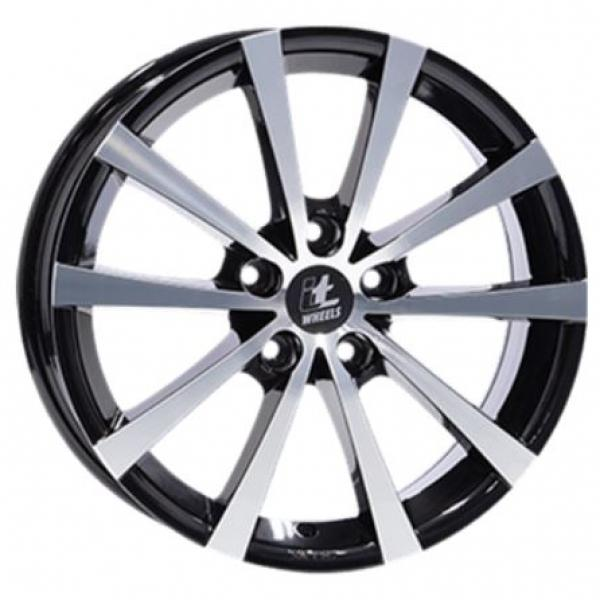 IT Wheels Alice Gloss Black Polished