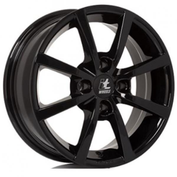 IT Wheels Alisia Gloss Black