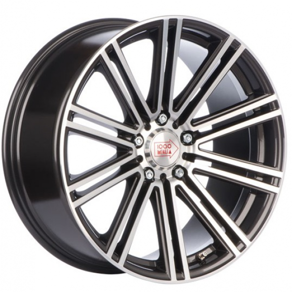 Mille Miglia 1005 Dark Anthracite/Polished