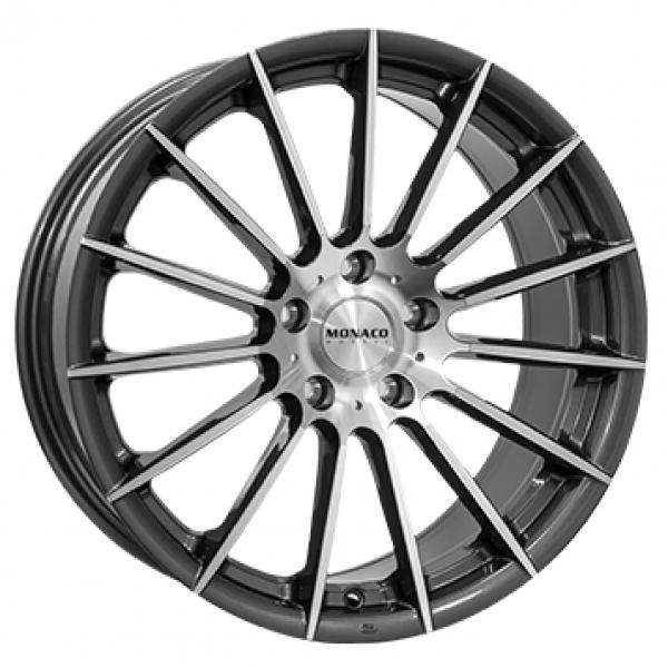 Monaco Formula Anthracite Polished Felg