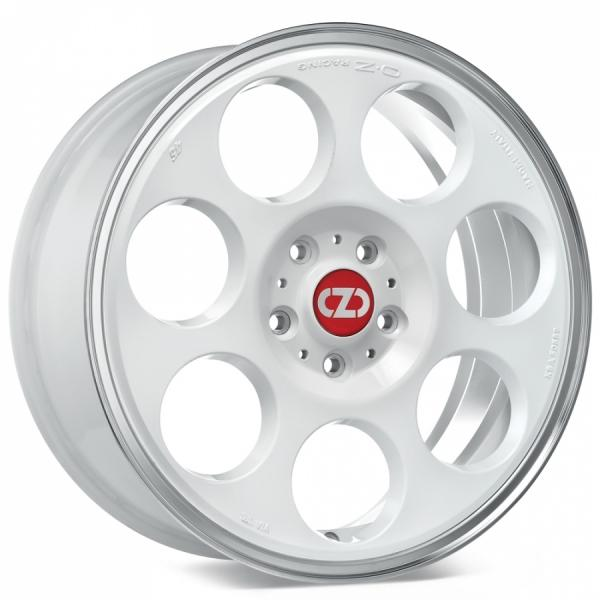 OZ Anniversary 45 White Machined Lip